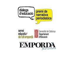 """PREMIS DE NARRATIVA PERIODÍSTICA """"DIÀLEGS D'EDUCACIÓ"""""""